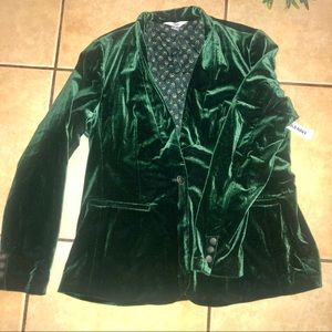 Old Navy Velvet Blazer